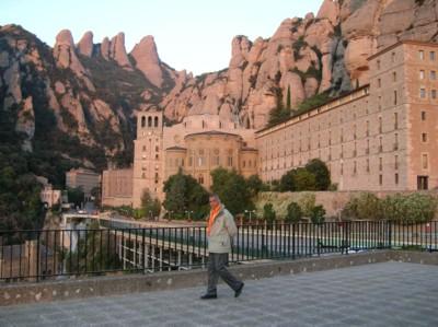 Morning walk at Montserrat