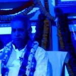 Blue morning meditation light