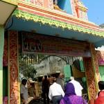 The entrance of the ashram