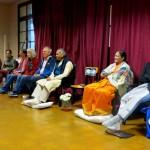 Last group meditation before leaving