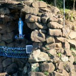 A grotto of St. Mary in Paraguay