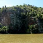 Beutiful rock formations, an old Guarani sanctuary