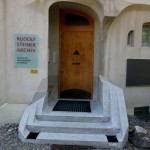 Entering House Duldeck, seat of the Rudolf Steiner Archives