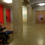 Entering the inner of the Goetheanum