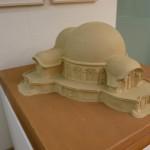 Mockup of the 1st Goetheanum