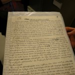 "Manuscript by Steiner of ""Secret Science"""