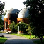 Glashouse, workplace for the glass windows of first Goetheanum. Now seat of the mathematical-astronomical section