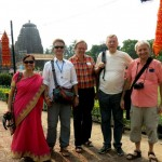 Our group at the Rajarani temple