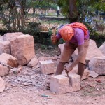 Stonecutting for the temple
