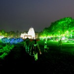 Magic ambiance at Rajarani