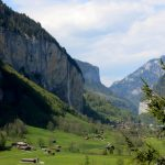 View in direction of Lauterbrunnen